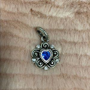 **3/$15**  Brighton Bracelet Blue Heart Ch…